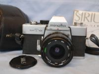 Minolta SRT101 SLR Camera Cased c/w 28mm Wide Angle Lens £19.99